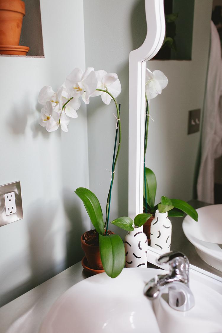 one room challenge // loft bathroom, the reveal! jojotastic.com #oneroomchallenge
