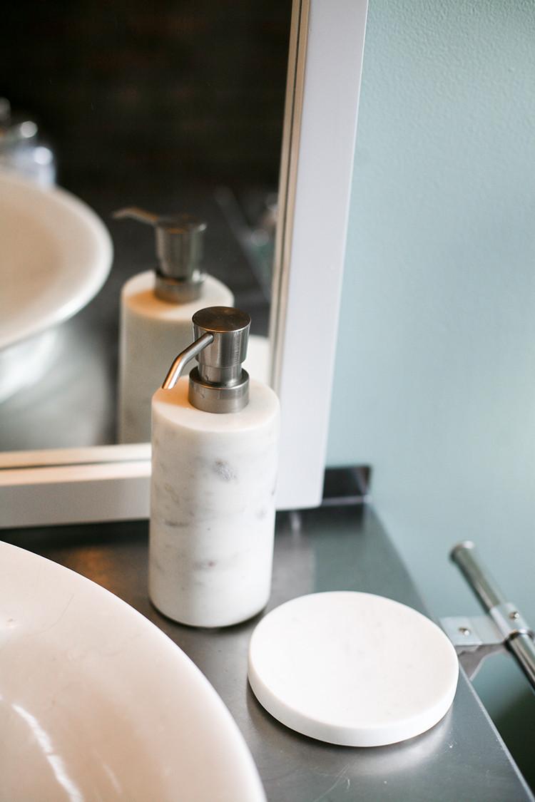 PROGRESS REPORT! one room challenge // loft bathroom, week 5 // jojotastic.com @target