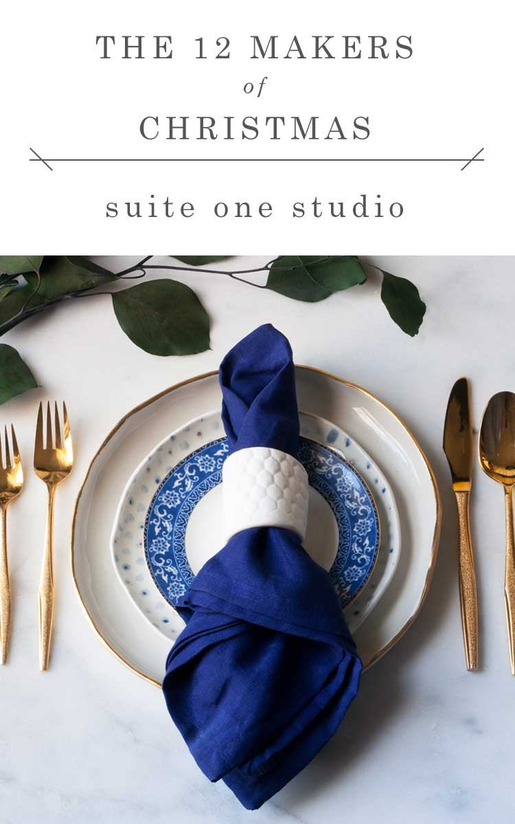 shop small this holiday season with gorgeous gifts from @suiteonestudio // jojotastic.com #12makersofchristmas