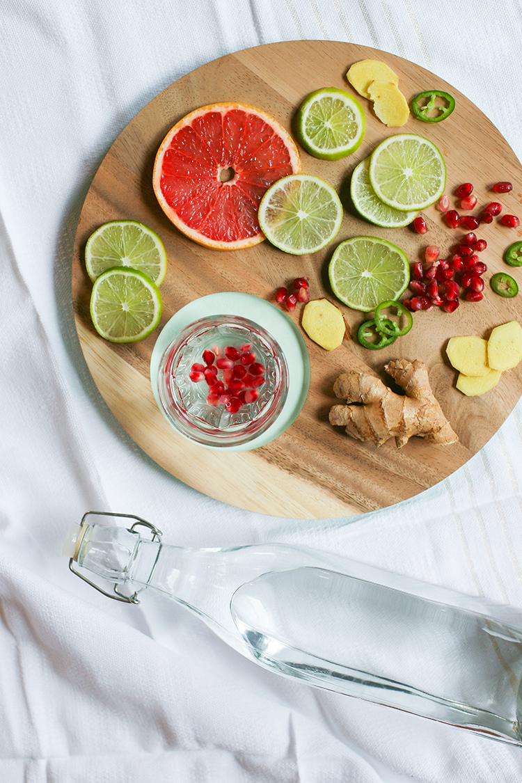 RECIPE // 3 fancy water combinations. see more on jojotastic.com