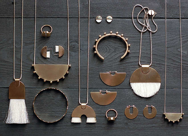 architectural and bold jewelry by @tirotirostudio // see more on jojotastic.com