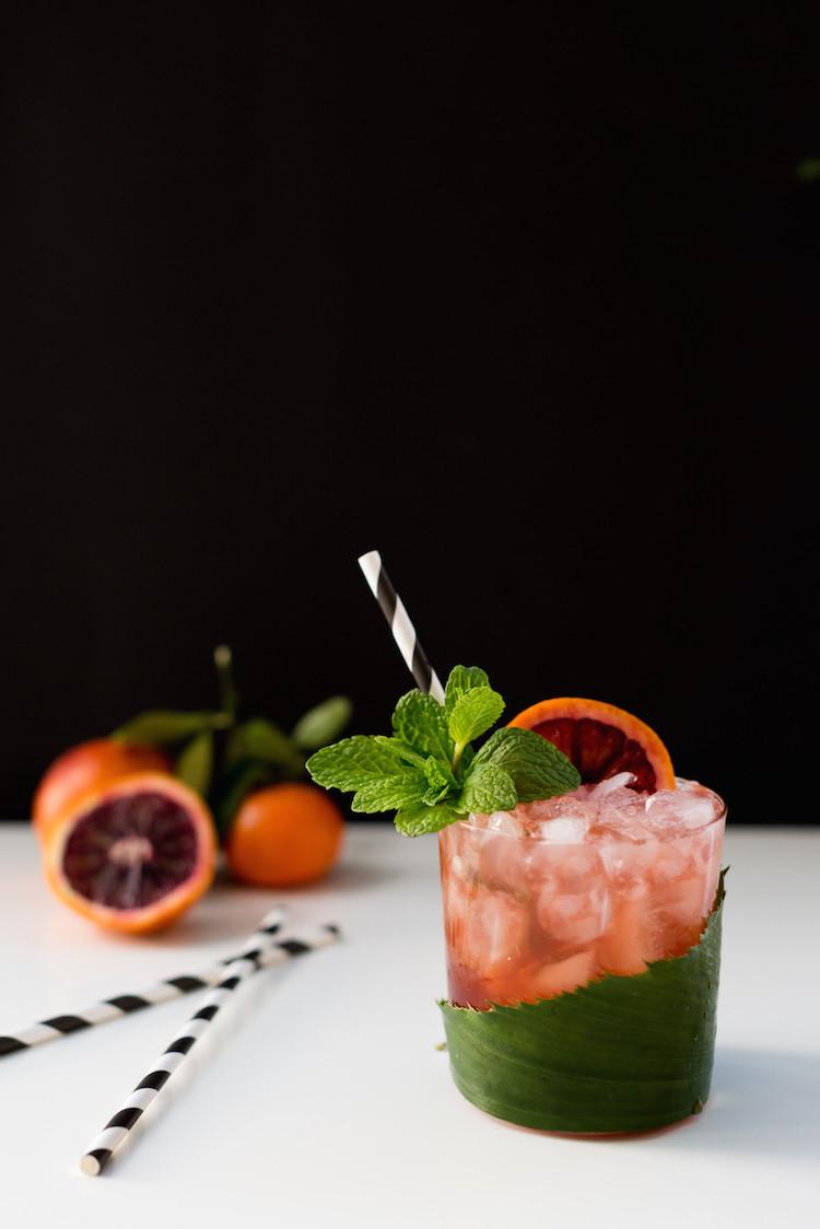 recipe: blood orange mai tai cocktail — get the full recipe on jojotastic.com