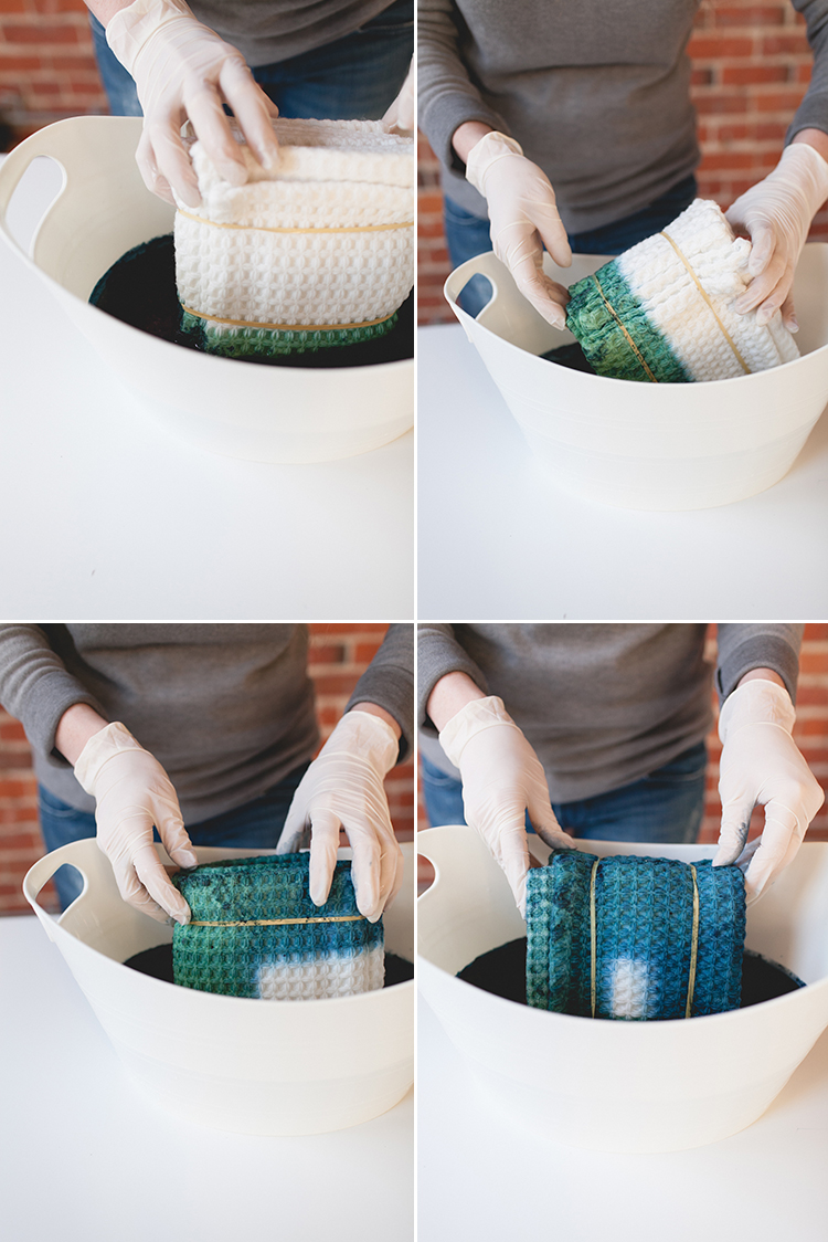 try this Japanese indigo dye method - learn the art of Shibori with this easy DIY on jojotastic.com