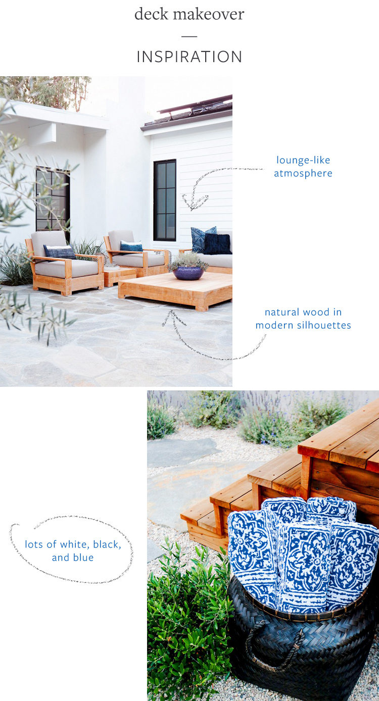 SO EXCITED: i'm making over my deck with @worldmarket — check out the before photos + get inspiration for my lounge-inspired outdoor space on jojotastic.com
