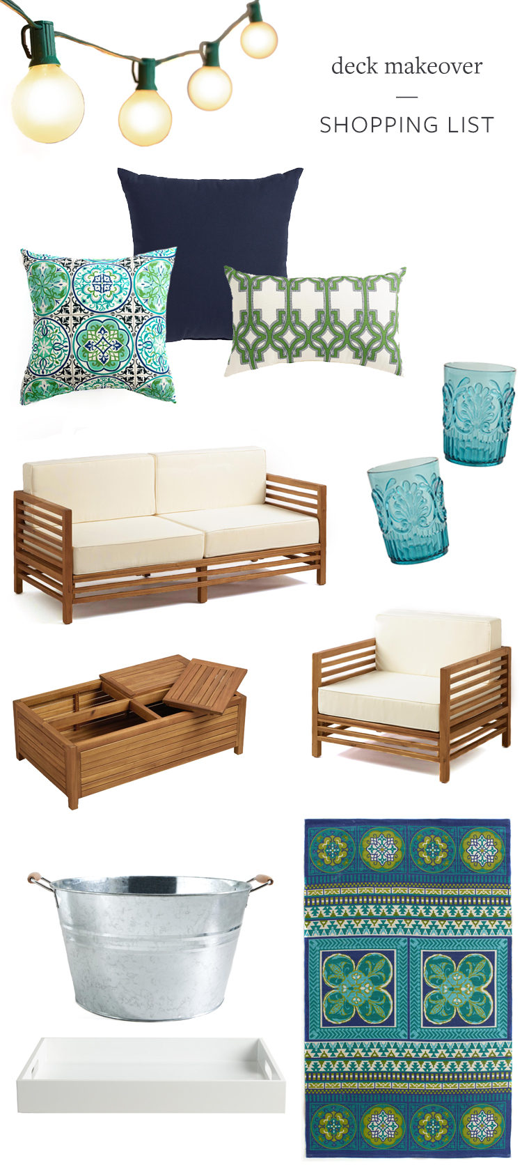 jojotastic deck makeover with World Market before inspiration
