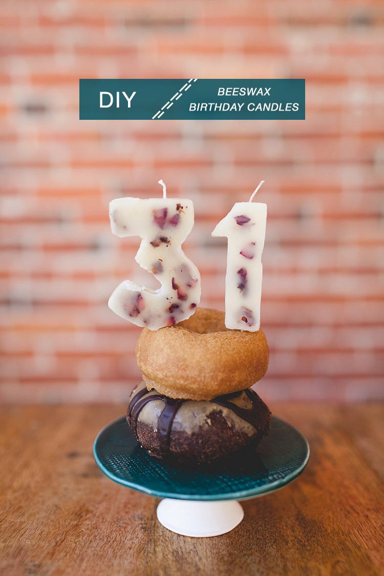 Jojotastic Diy Beeswax Birthday Candles