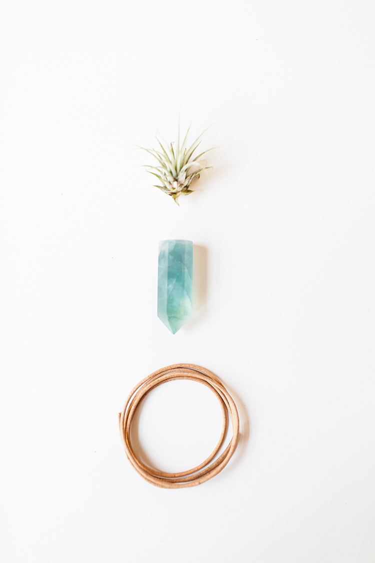DIY crystal planters are the perfect project to clear the energy (and air quality) of your space! for the full tutorial head to jojotastic.com