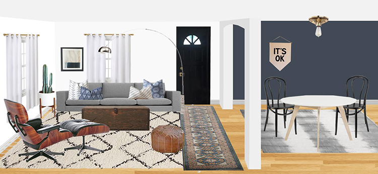 It's part 2 of my living room @decorist DesignOff with @HouseofHipsters + @Jojotastic! Check out the two moodboards from my interior designer and help me select a design plan! Weigh in on Jojotastic.com