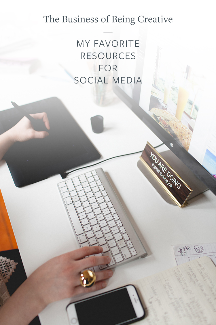 ON THE BLOG: I'm sharing my favorite resources that help me run my blogging and creative business smoothly on social media. Read the full post on Jojotastic.com or pin now and save for later!