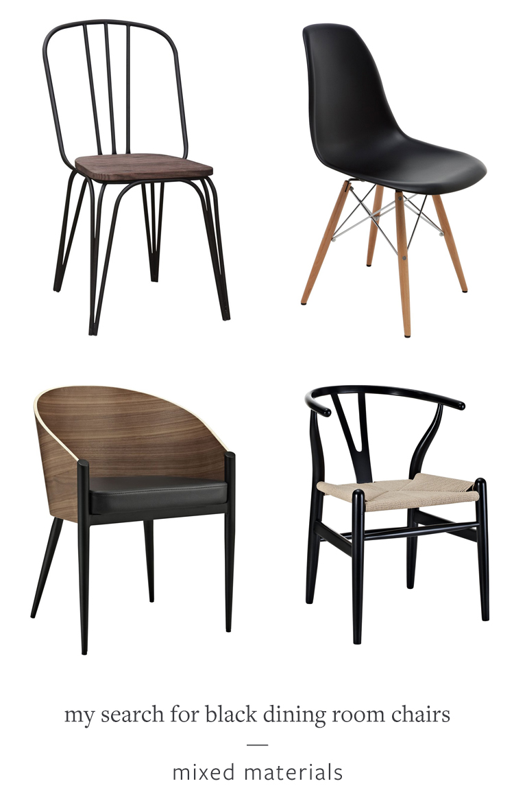 jojotastic - my search for the perfect black dining room chairs