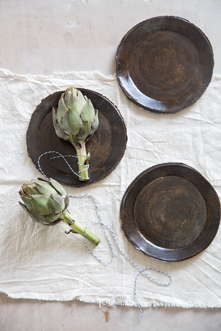 Loving these gorgeous ceramics found on @etsy! Might need to add these handmade plates, bowls and cups to my prop styling library and home. Find more and shop the post on Jojotastic.com