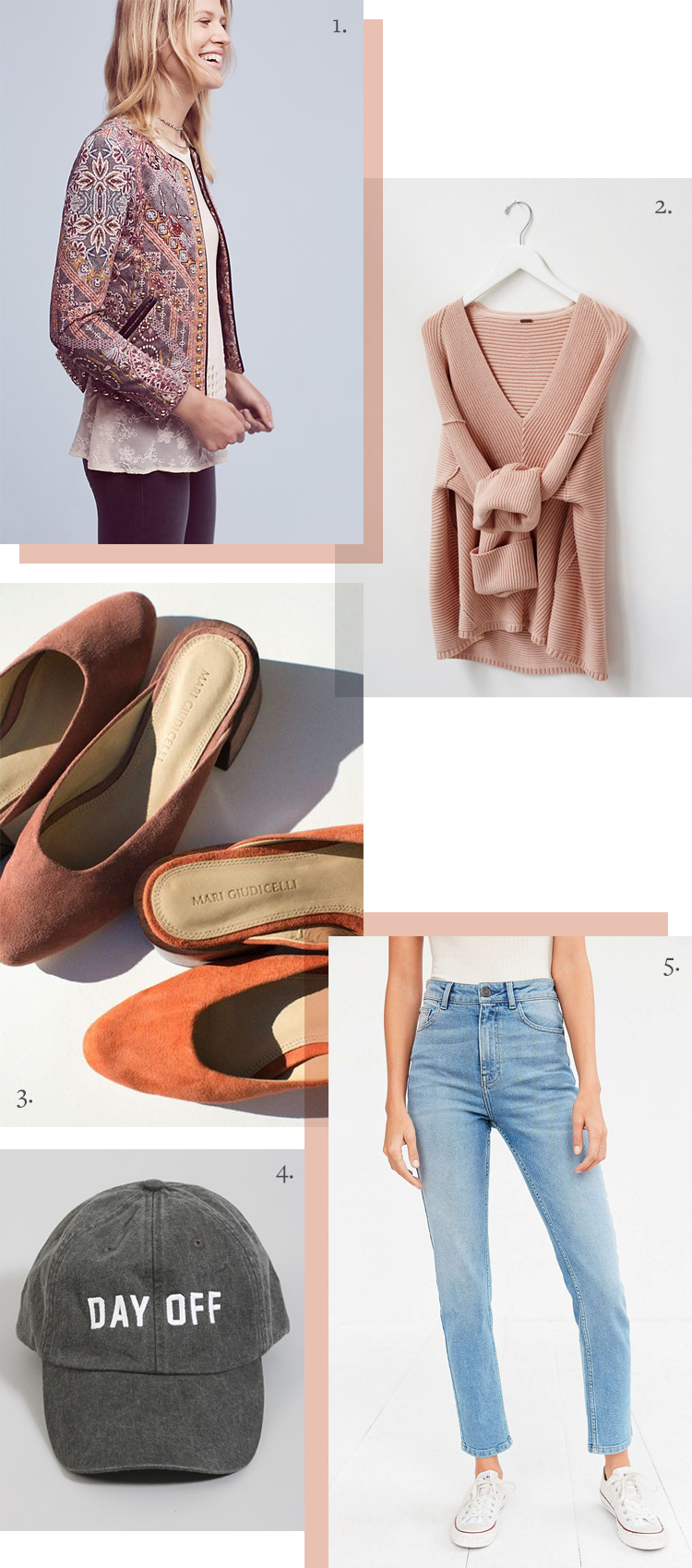 When I'm busy, I reach for my fashion uniform: chunky oversized sweater, cropped jeans in a light wash, cropped jacket with embellishment, mules or clogs, and a baseball hat! See more style inspiration on jojotastic.com