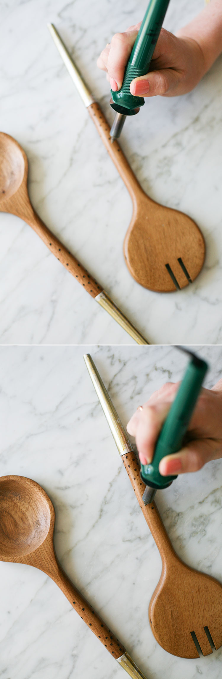 Jojotastic diy woodburned patterned spoons makes a great diy wood burned patterned spoons is a super easy way to add a handmade touch to solutioingenieria Image collections