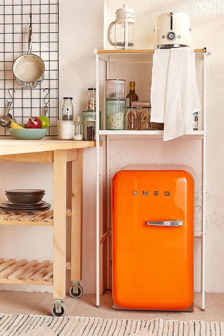 Jojotastic 20 ways to sneak in extra storage with for Extra storage for small kitchen