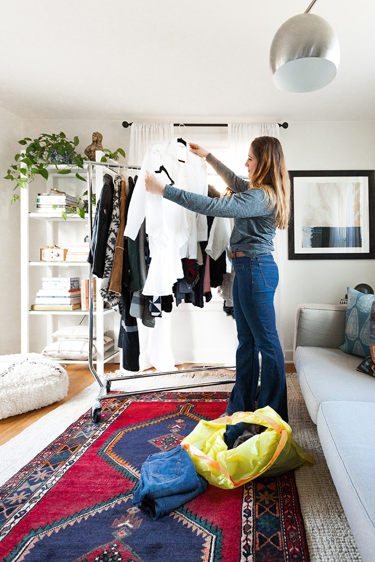 How To Clean Out Your Closet jojotastic - closet clean-out tips for a tiny house (with glad!)