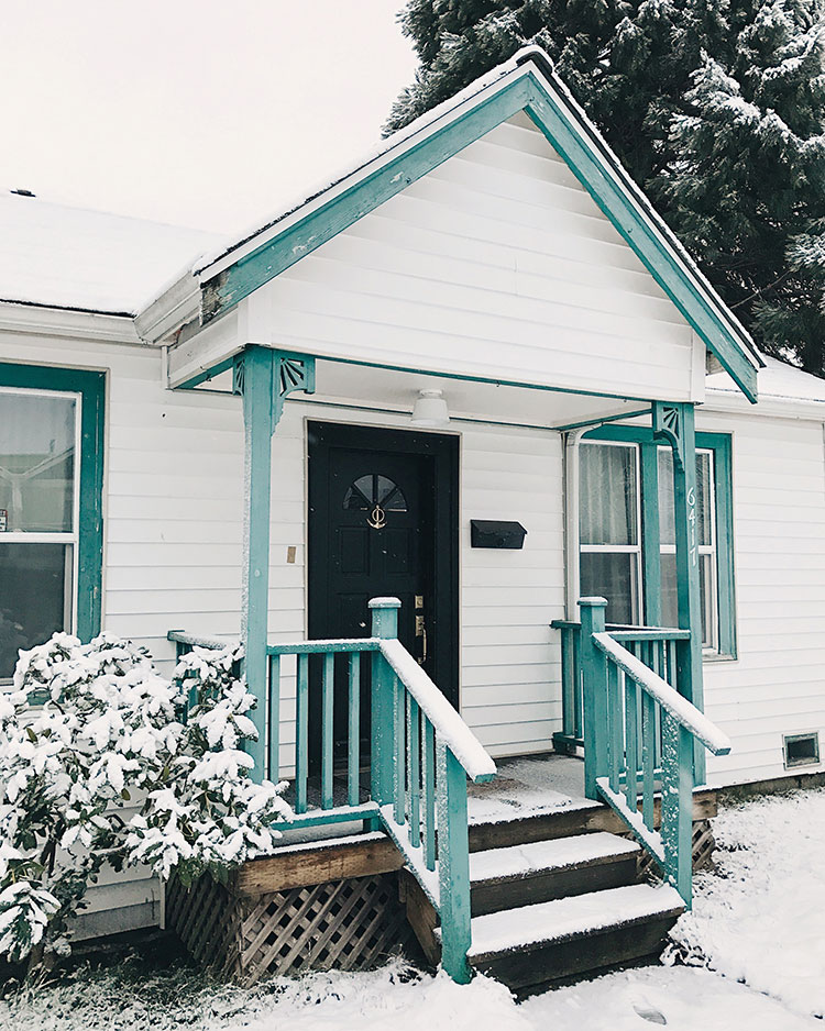 it's the 1 year anniversary of buying my first house, a fixer upper! What a year it's been... lots of adventures, renovations, makeover reveals, and yard work! Check out the full visual diary on Jojotastic.com