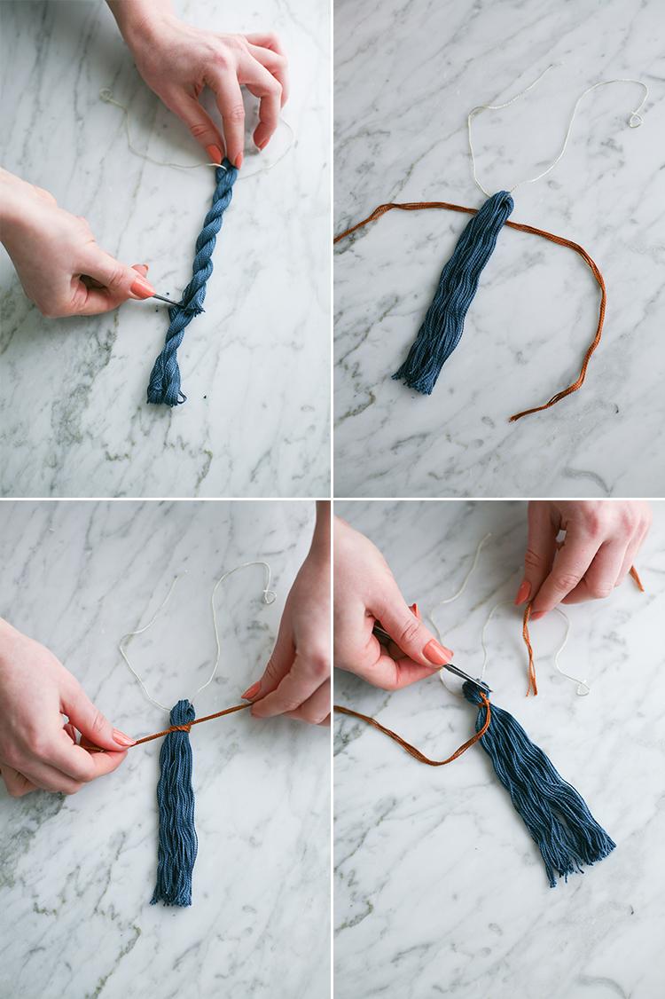 Jojotastic Diy Boho Curtain Tie Backs With Tassels