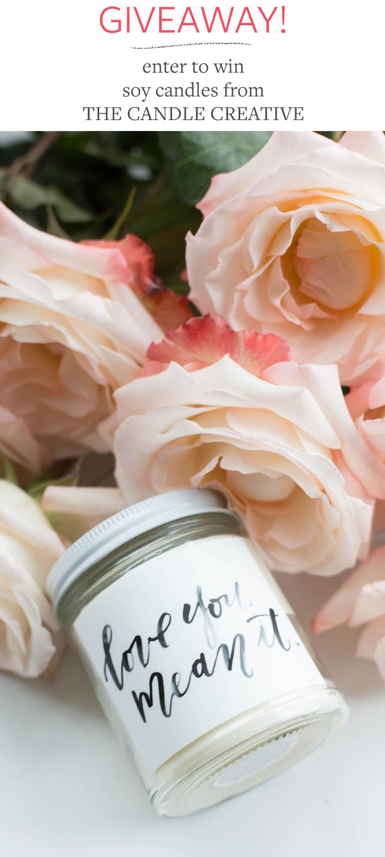 giveaway alert! enter to win soy candles with artwork designed by independent artists. more info on jojotastic.com