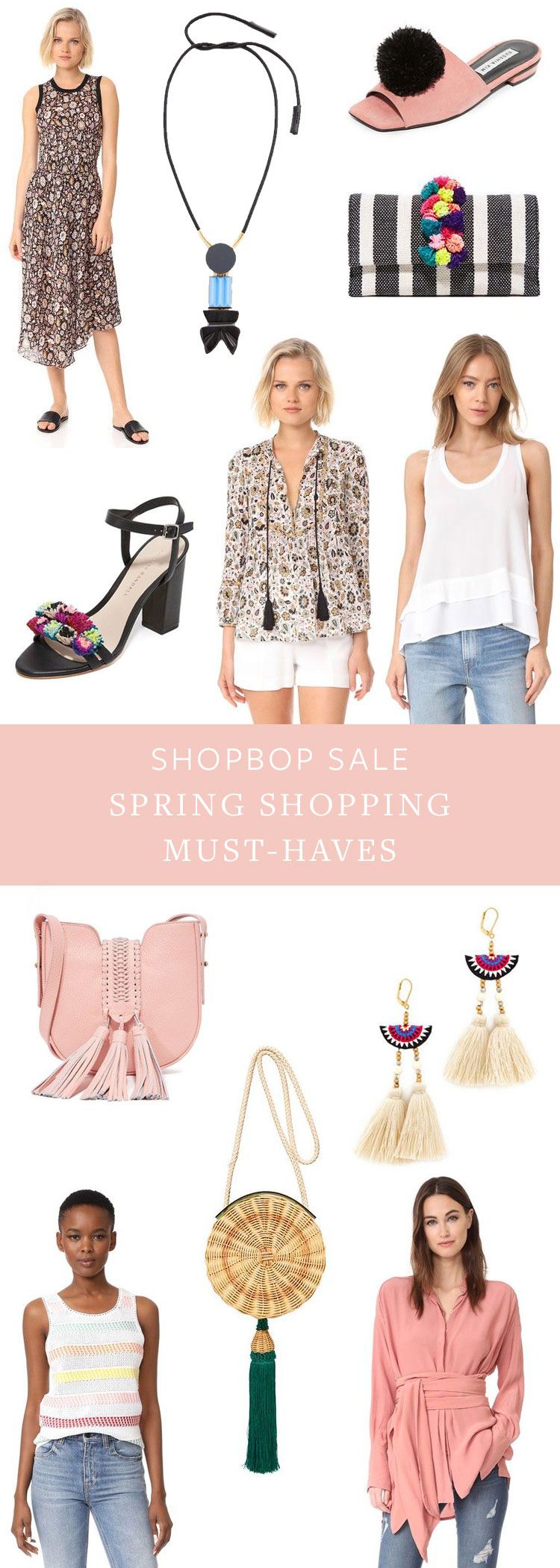 spring shopping must-haves from the shopbop sale! find all my boho fashion inspiration on jojotastic.com