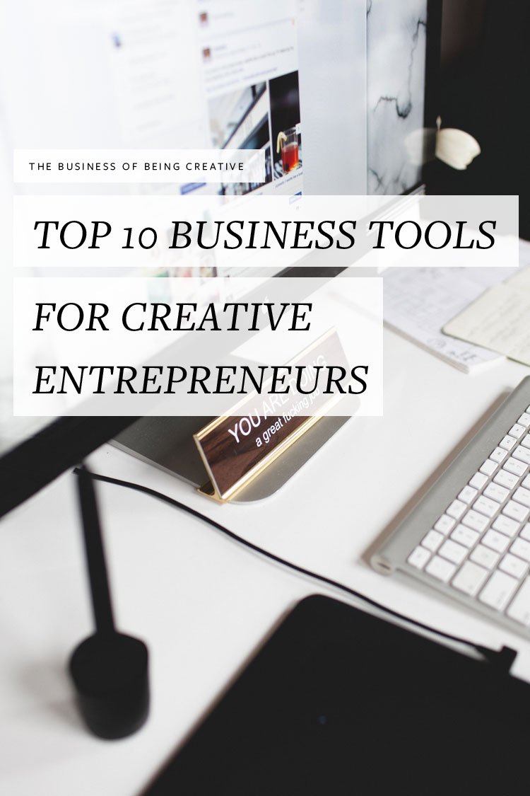 Run your own creative business? 2 creative entrepreneurs are sharing their must have business tools that help them effectively manage their businesses. Find the list at jojotastic.com