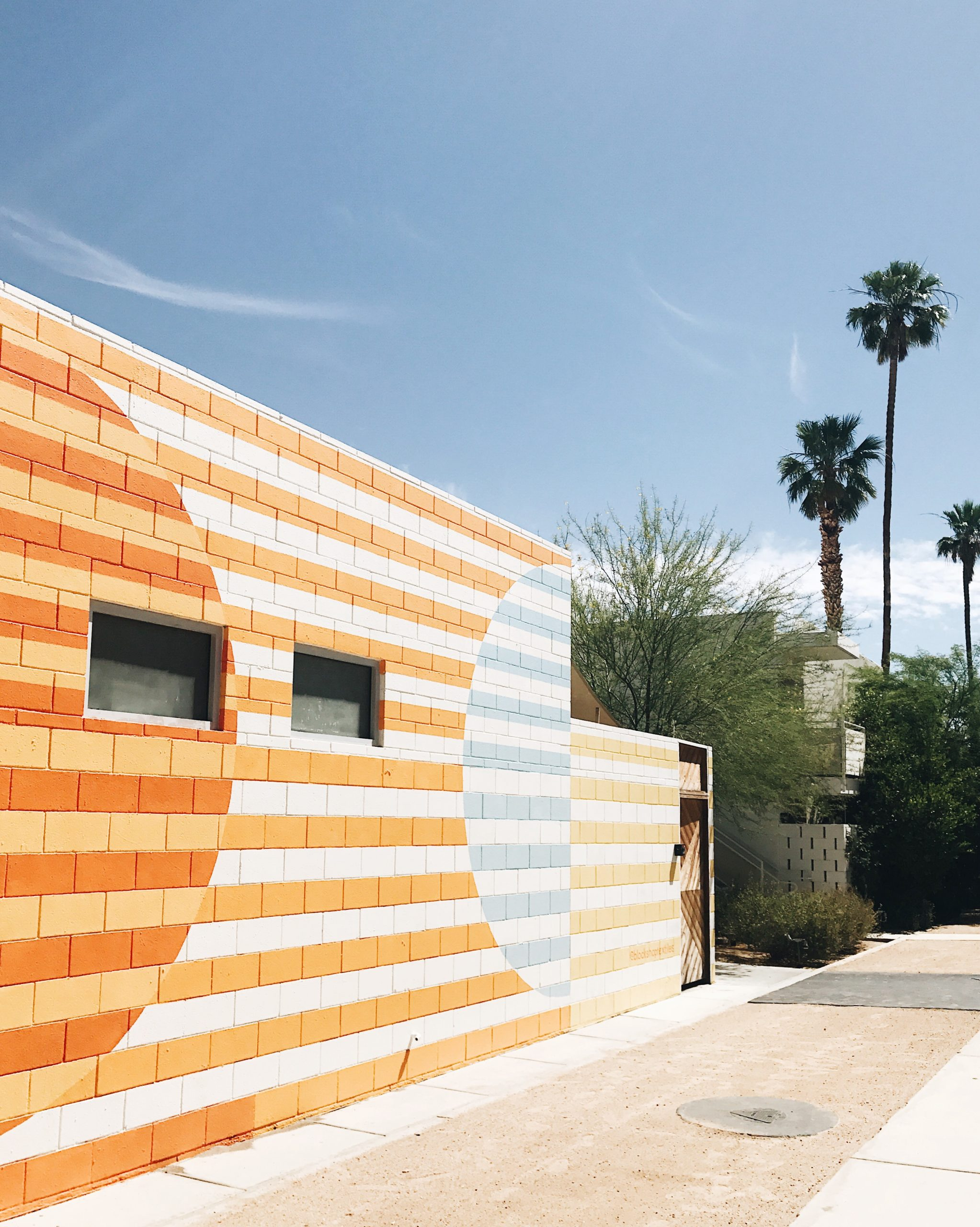 jojotastic travel guide and visual diary for palm springs. the ace hotel + block shop textiles wall mural
