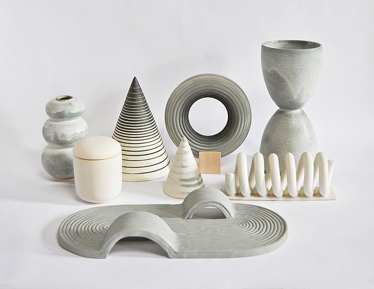 the friday edit. modern ceramics by object and totem.