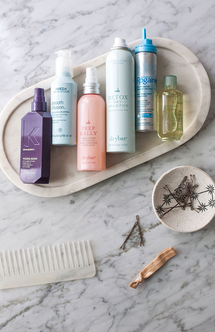 How to Update Your Haircare Routine for Fall with #Rogaine for #HairLossAwareness month. Learn more on jojotastic.com #ad