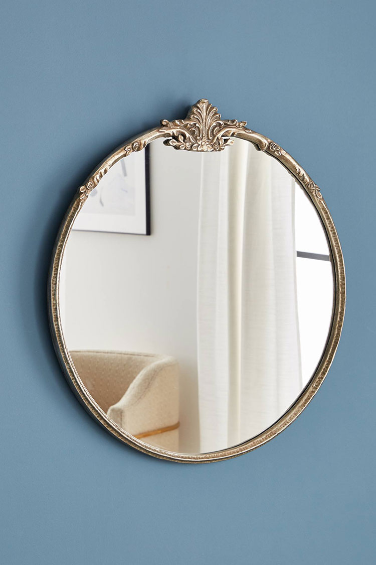40 Resources For Stylish Round Mirrors Jojotastic