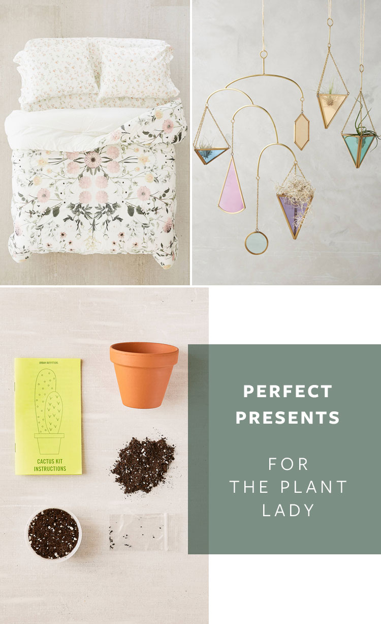 The perfect presents for the plant lady for that friend who loves succulents, gardening, and flowers. Get the full gift guide on jojotastic.com #giftguide #holidaygifts #plantlady #christmasgifts