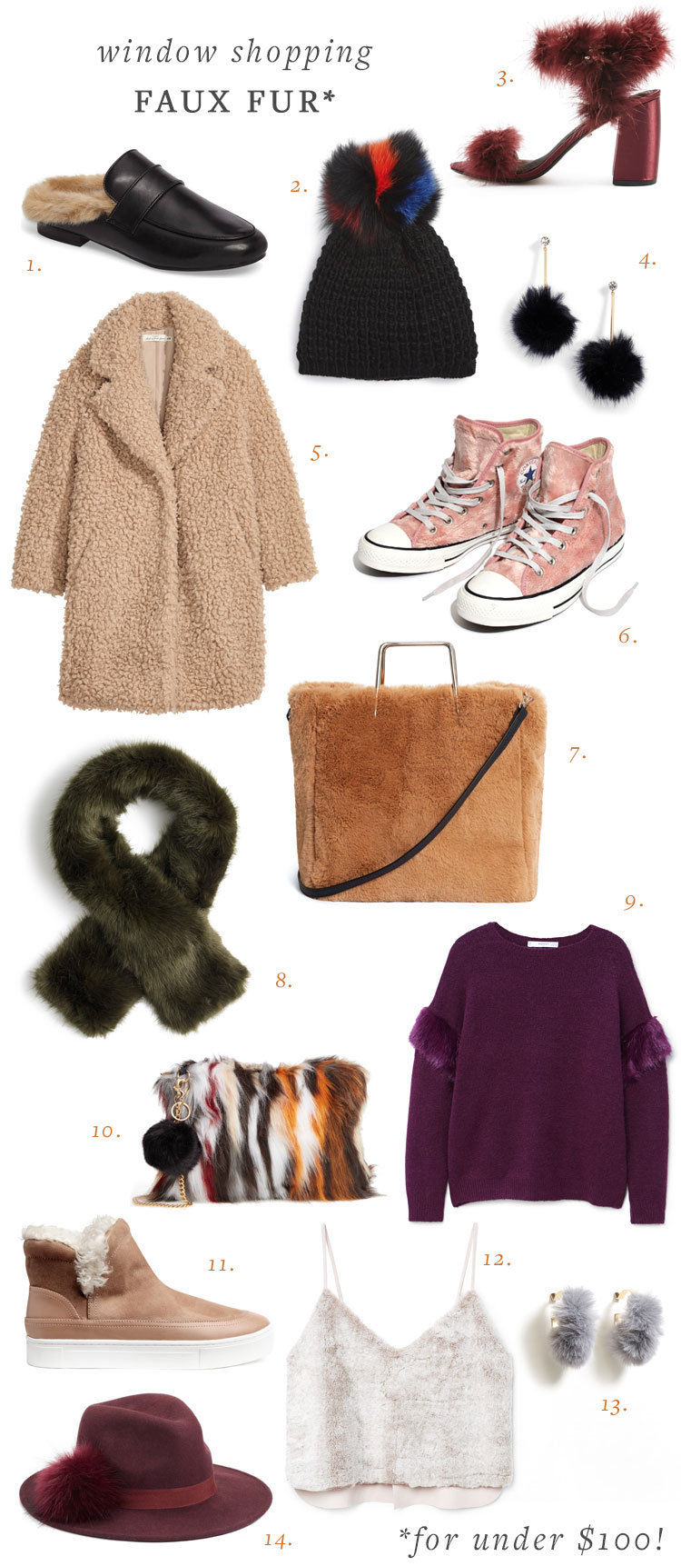 /for the love of faux fur (for under $100!). fall and winter's trend of faux fur is everywhere from clothing to bags, shoes, and hats. Shop the post on jojotastic.com