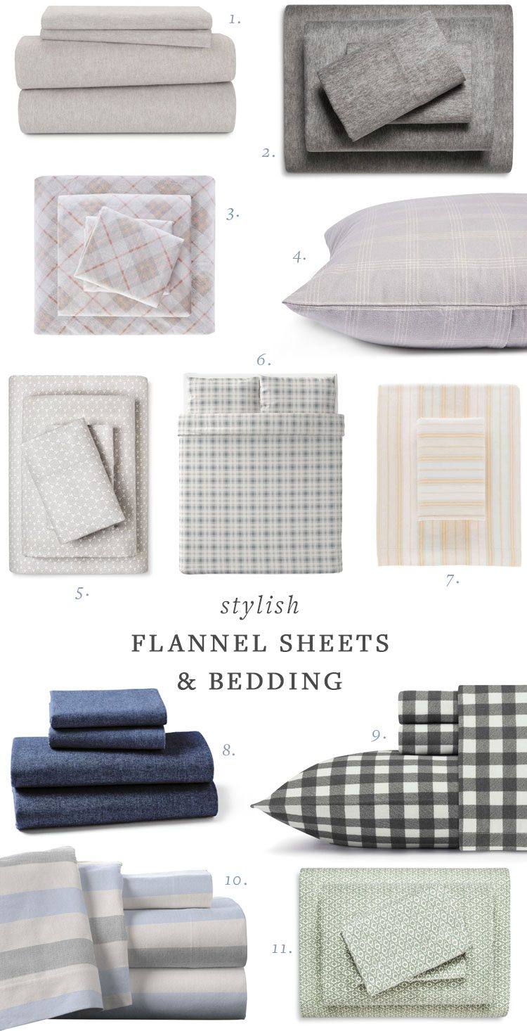 my search for stylish flannel sheets and bedding! get all of the shopping resources on jojotastic.com #flannel #bedding #sheets