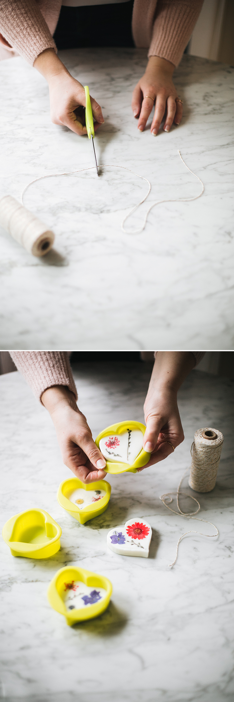 jojotastic - DIY essential oil + soy wax sachets for your