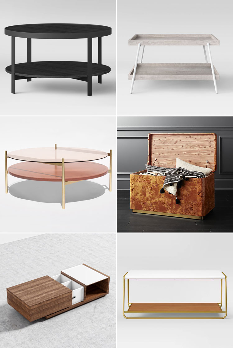 My Search For A Stylish Coffee Table With Storage For My Small Space.  #smallspaces