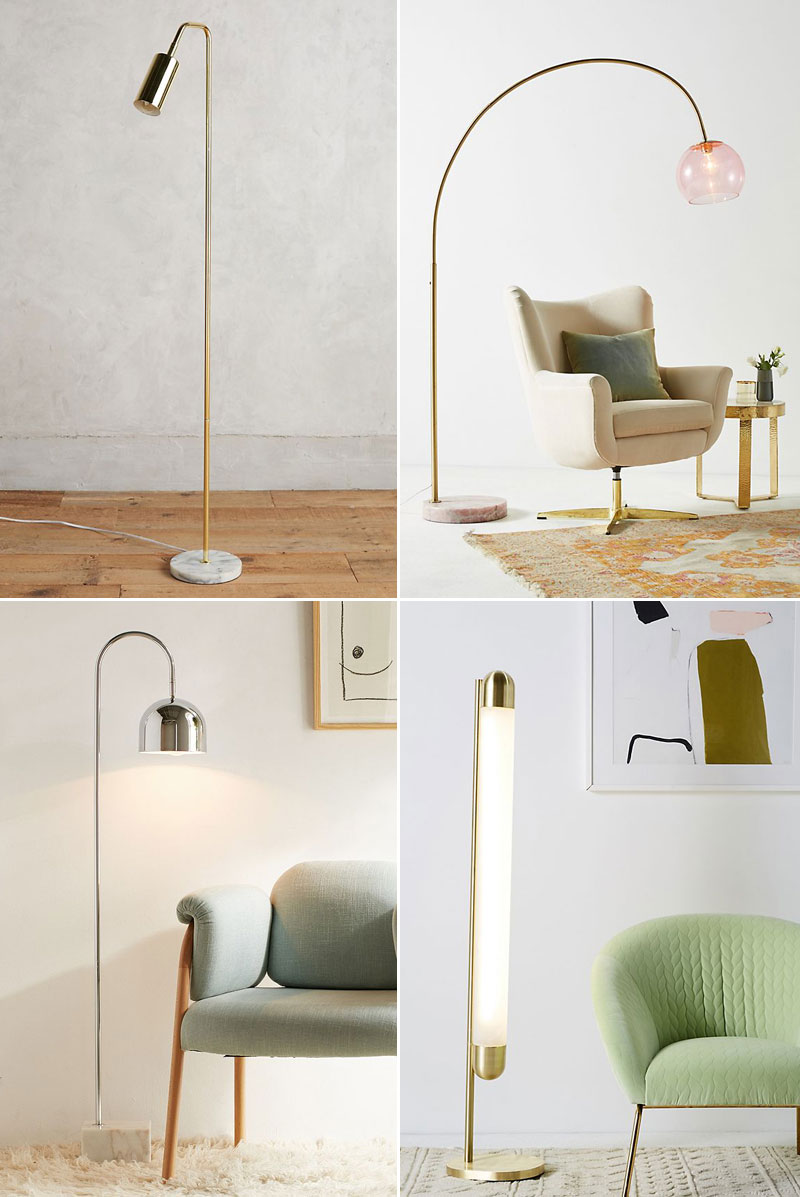 25 Stylish Floor Lamps For Your Small Space Jojotastic