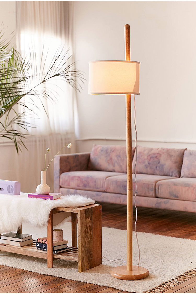 25+ stylish floor lamps for your small space | Jojotastic