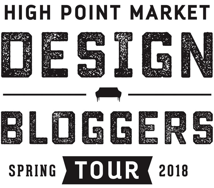 BIG NEWS on the blog today: I will be part of the High Point Market Design Bloggers tour this spring! @HighPointMarket #DesignBloggersTour #HPMKT #ad