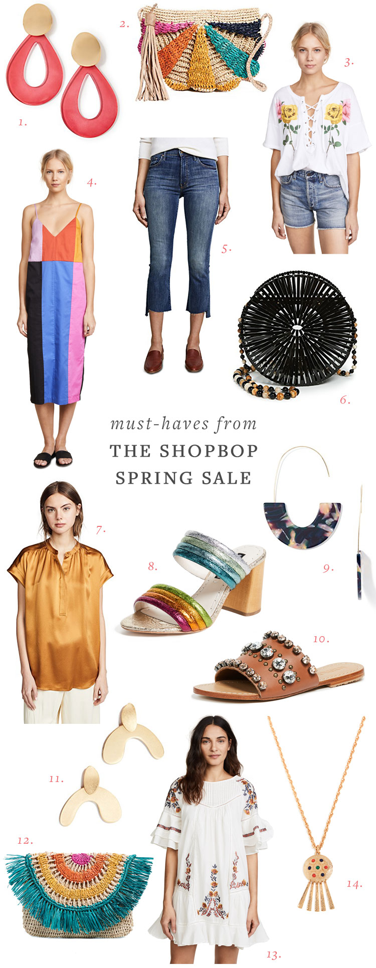 spring fashion must-haves from the @shopbop sale with to 25% off! #springfashion #whattowear #fashion #sale #shopbop #springsale