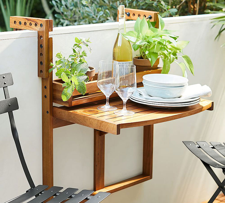 small space-friendly outdoor furniture | Jojotastic