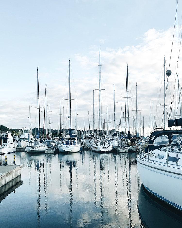 The Weekend Edit of June, 30th - sailboat marina in Seattle, WA. #sailboats #boatlife #marine #nautical #seattle #ballard