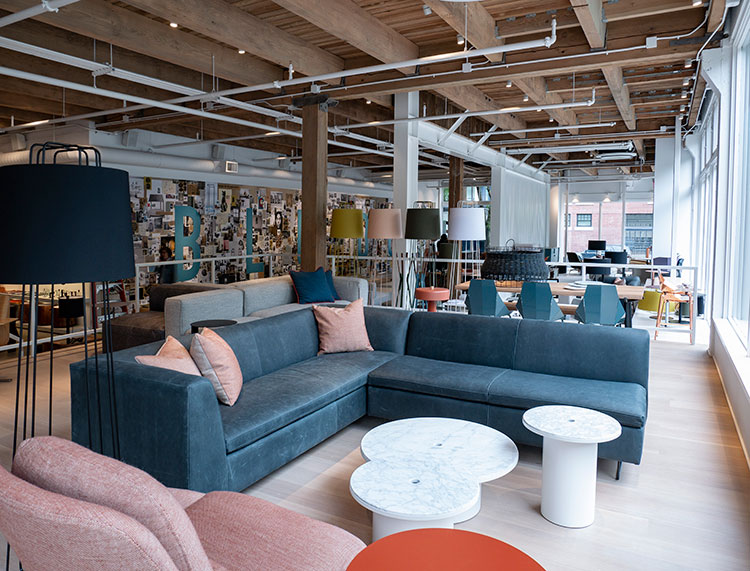 Blu Dot store opening in Seattle. Modern minimalist furniture and home decor, designed in America. @bludot #furniture #bludot #minimalist #modernfurniture #storeopening #seattle