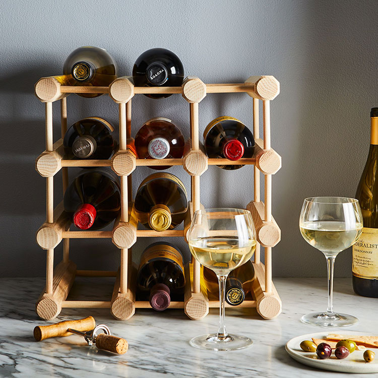 Jojotastic Chic Wine Storage For Small Spaces By Joanna Hawley