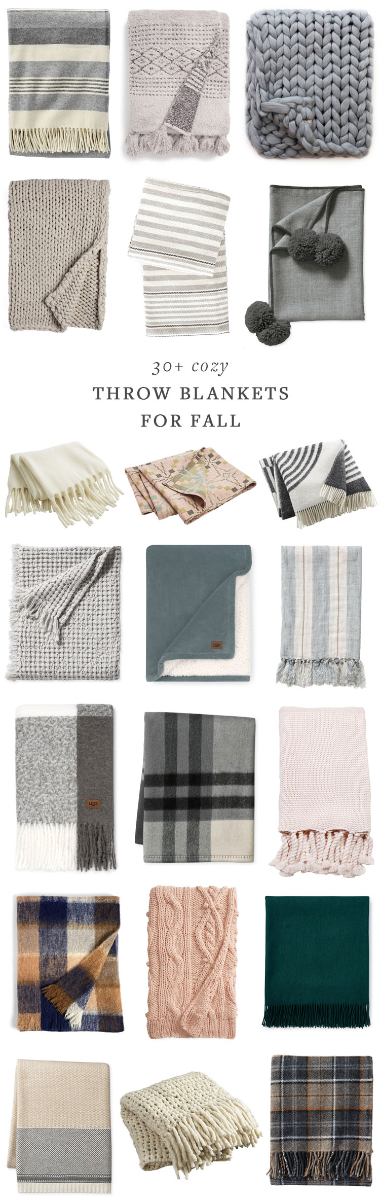 the best cozy throw blankets for fall! #throws #throwblanket #blankets #cozy #hygge #fallvibes #fall