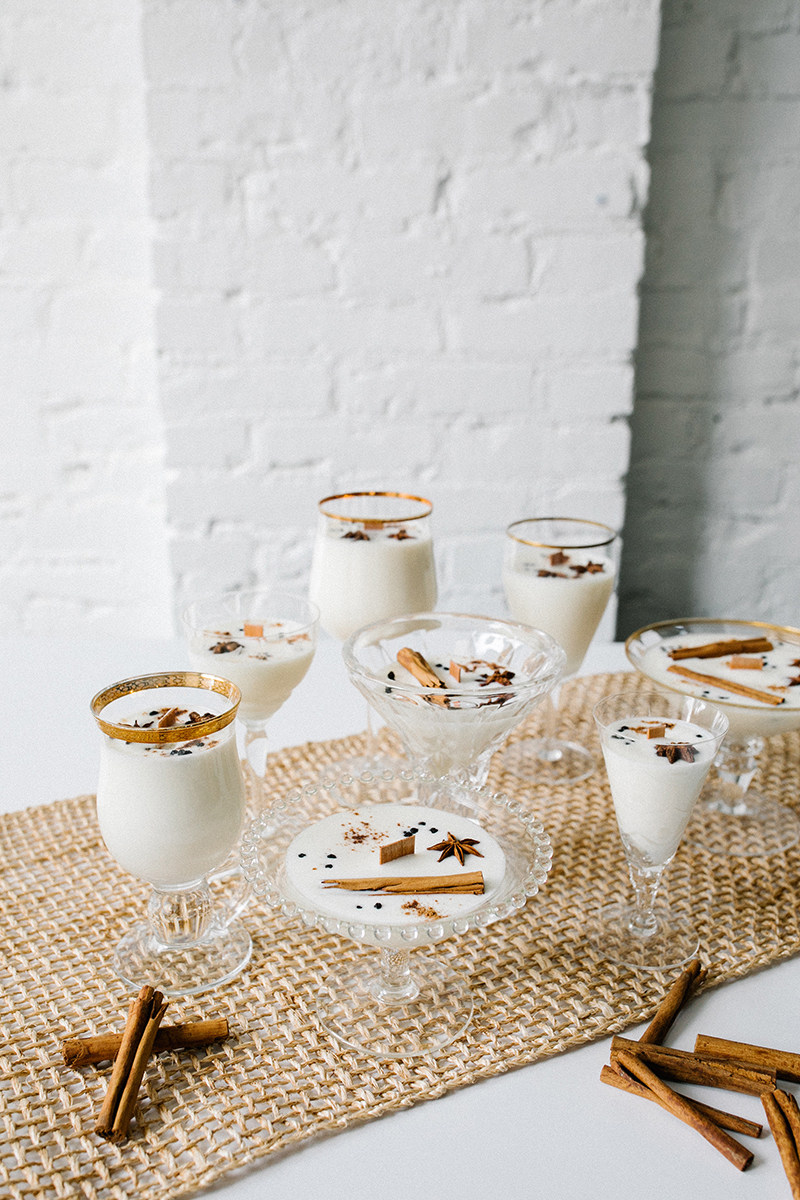 Eggnog Soy Wax Candle Diy With Essential Oils Jojotastic