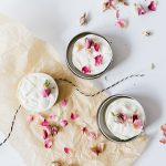 This DIY shampoo bar recipe make with shea butter and essential oils cleanses naturally and smells amazing. Get the full tutorial at Jojotastic.com #diy #essentialoil #naturalbeauty #rose #shampoobar