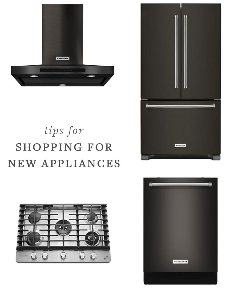 Our Kitchen Renovation, How to Shop For New Appliances #sponsored by @kitchenaidUSA #kitchen #kitchenrenovation #appliances #blackstainless #smallspaces #tipsandtricks #howtoshopforappliances #applianceshopping #refrigerator #oven #dishwasher #fixerupper #renovation