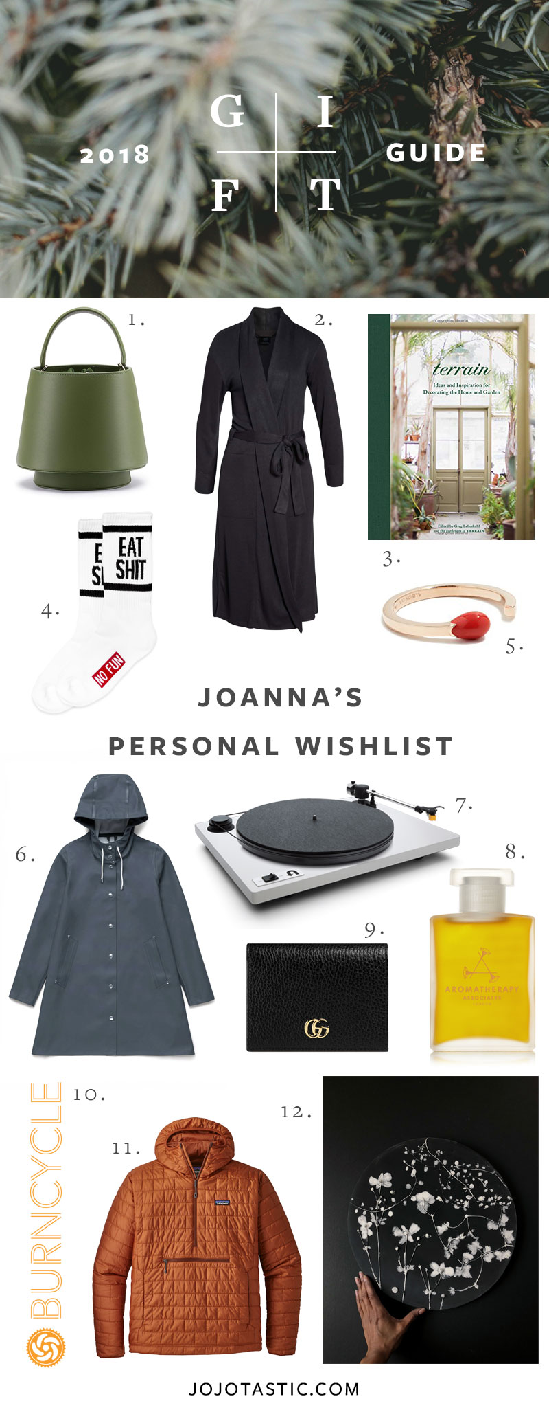 A Lifestyle Blogger's Personal Wishlist Gift Ideas, Gift Guide for Christmas & Holidays 2018 via jojotastic.com #giftguide #giftidea #giftgiving #gifts #presents #christmaspresents #christmasgiftideas #christmasgift