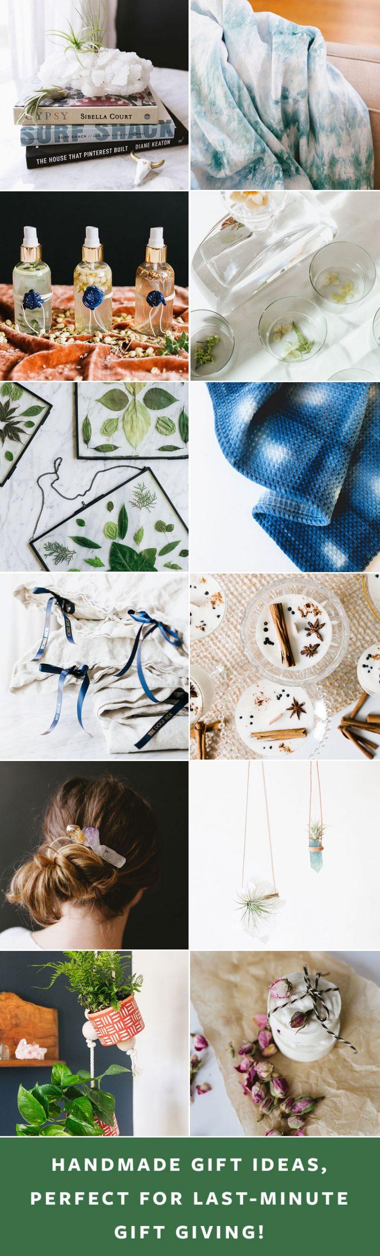 13 Last-Minute Handmade Gift Ideas! Get the full tutorial at Jojotastic.com #giftguide #handmadegifts #DIYgifts #christmasgifts #giftideas #diy