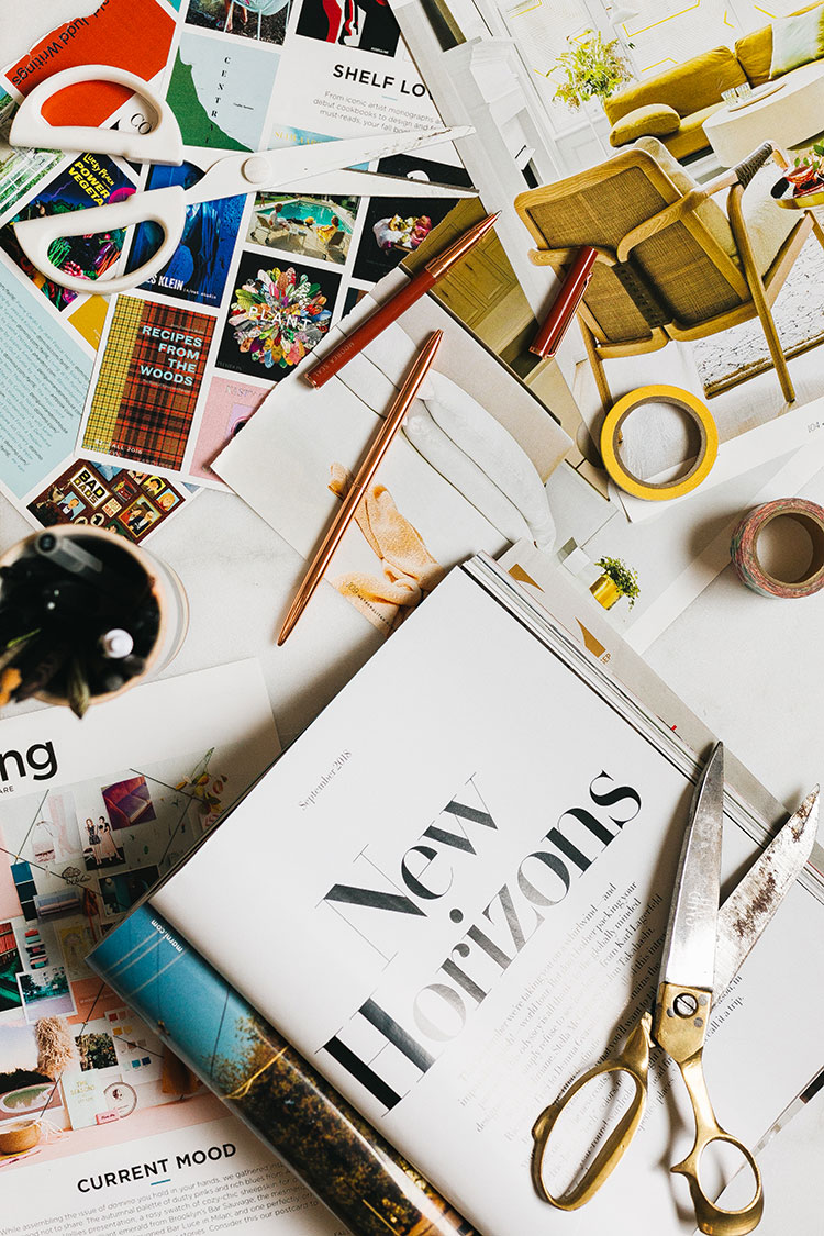 Weekend Wellness: Envisioning the New Year via jojotastic.com Tips for setting intentions and goals for 2019 + how to build a vision board. #wellness #visionboard #goals #2019 #newyearsresolution #newyearsintentions #NYE