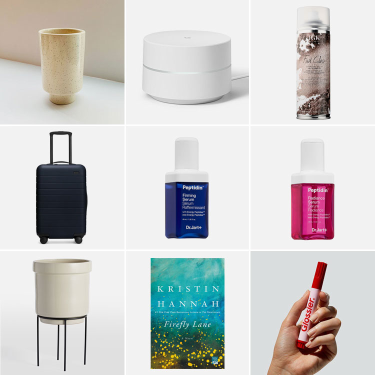 9 things of note: Joanna's Favorite Things from April 2019. Including the Away carry-on suitcase, peptidin serums, google wifi, dry shampoo, Glossier zit stick and MORE! #thingsofnote #shopping #shoppingguide #musthaves