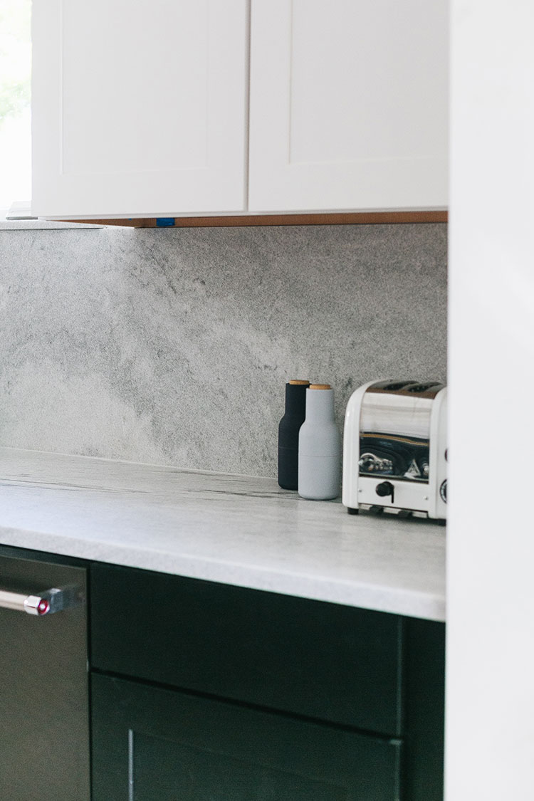 Our Kitchen Renovation: Our Polycor Stone Countertop and Backsplash Installation! Small kitchen remodel with White Cherokee Georgian Marble from @polycordesign. Designed by interior designer @roomfortuesday #ad #oldhouse #kitchen #kitchenrenovation #demoday #renovation #oldhome #oldhomerenovation #smallspaces #smallkitchen #kitchenrenovation #beforeafter #kitchenmakeover #kitchen #makeover #fixerupper